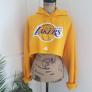Lakers Cropped Hoodie!